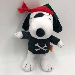 Pets Peanuts Halloween Woodstock Pirate Squeaker